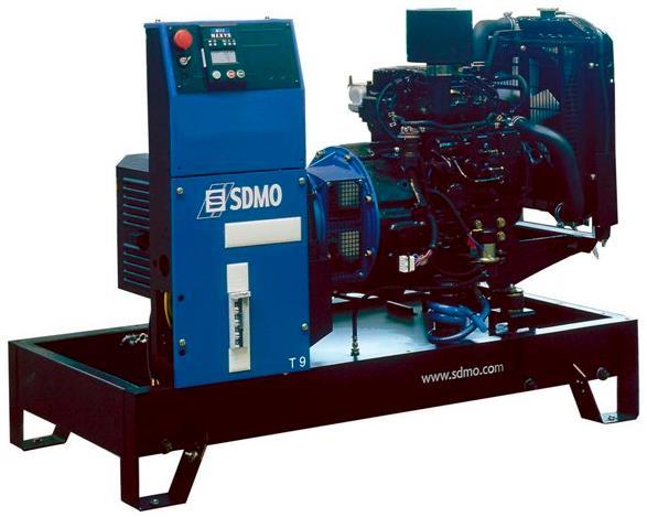 Фото: Дизельный генератор SDMO T9KM