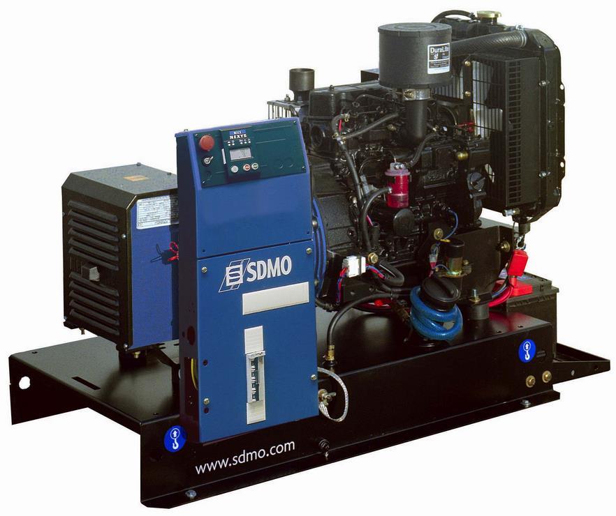 Фото: Дизельный генератор / электростанция SDMO T6KM