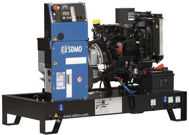 Фото: Дизельный генератор SDMO Pacific T8HKM