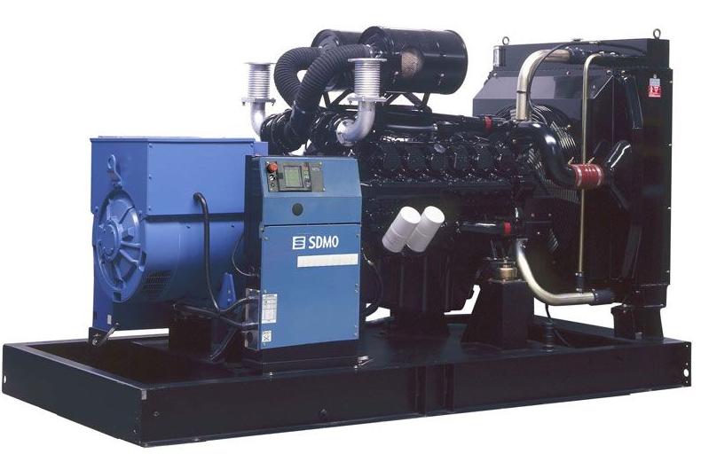 Фото: Дизельный генератор SDMO D550