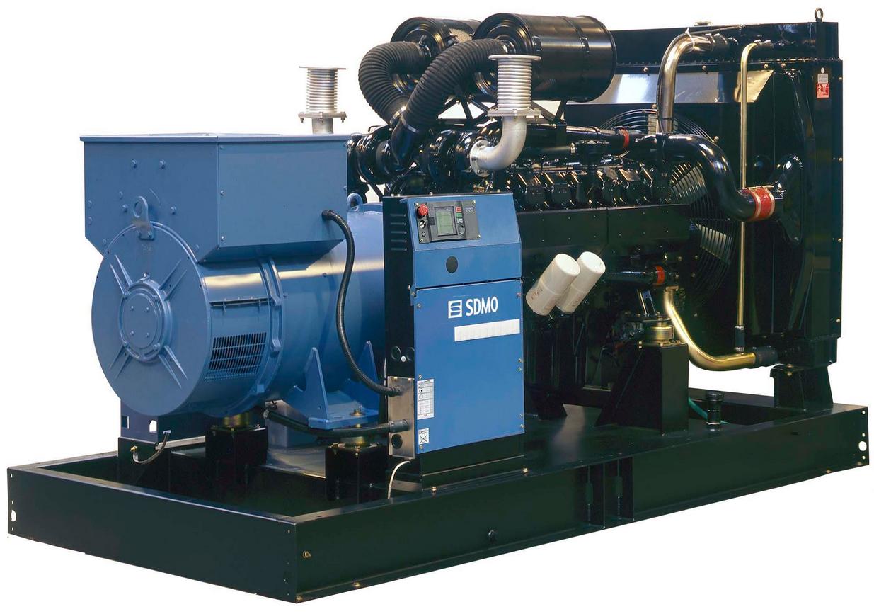 Фото: Дизельный генератор SDMO D700