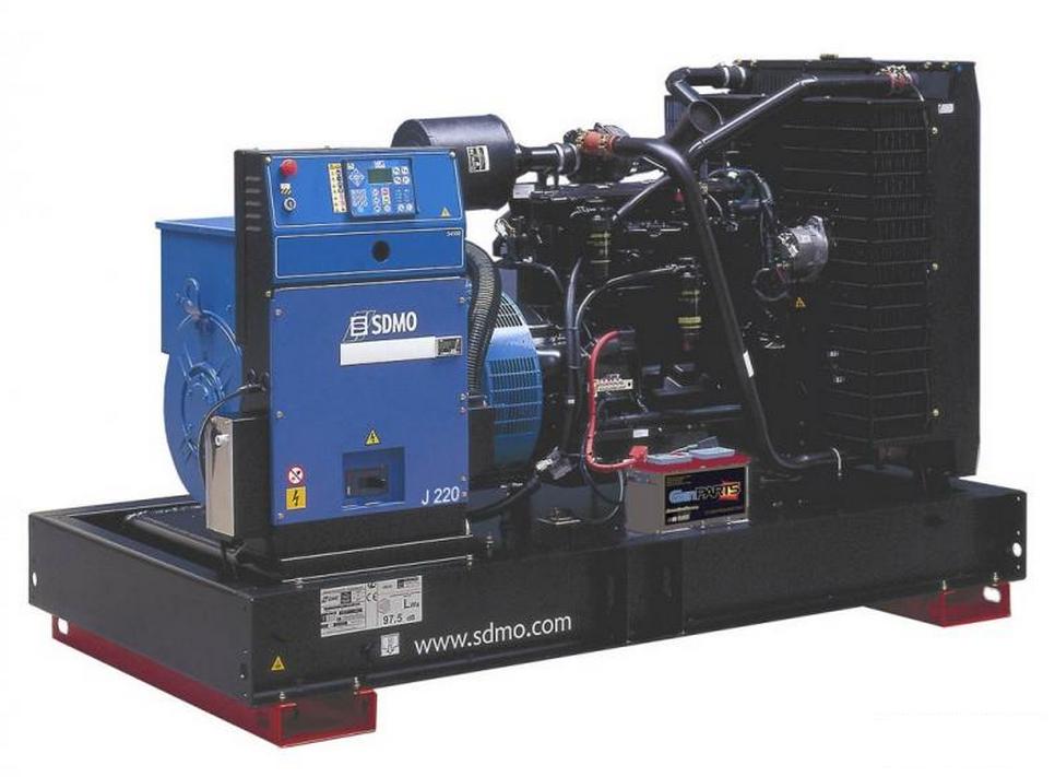 Фото: Дизельный генератор SDMO J 220K