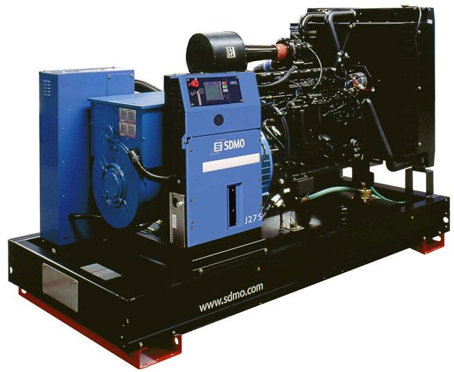 Фото: Дизельный генератор SDMO J 275K