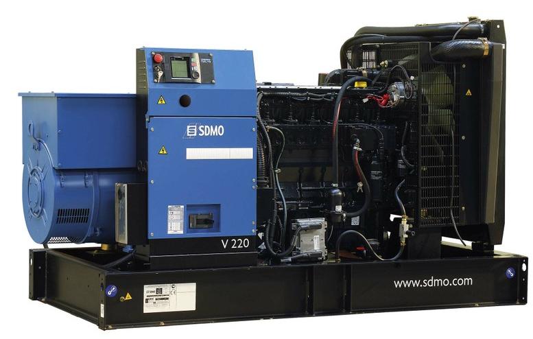 Фото: Дизельный генератор SDMO V 220C2