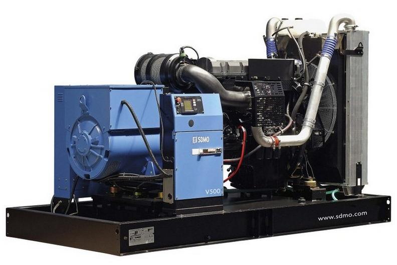 Фото: Дизельный генератор SDMO V 500C2