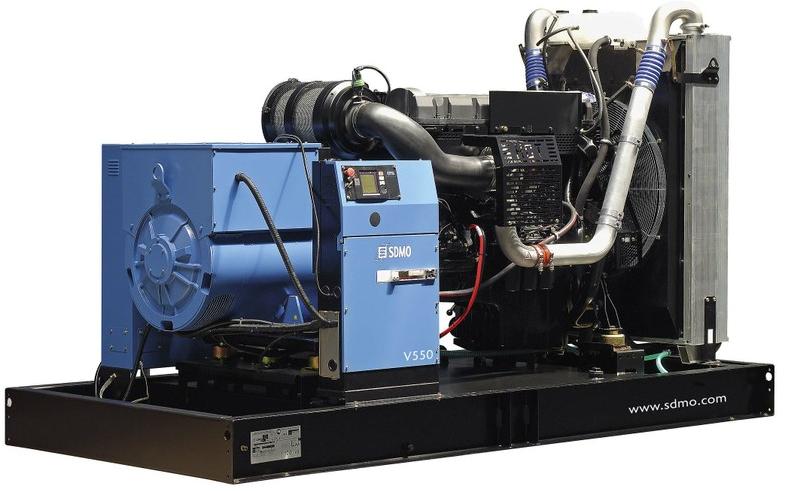 Фото: Дизельный генератор SDMO V 550C2