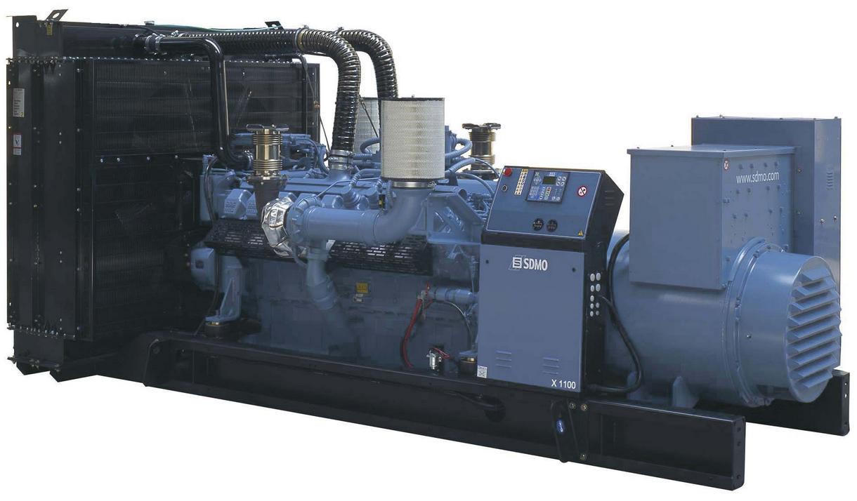 Фото: Дизельный генератор SDMO X 1100