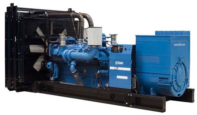 Фото: Дизельный генератор SDMO X 1250