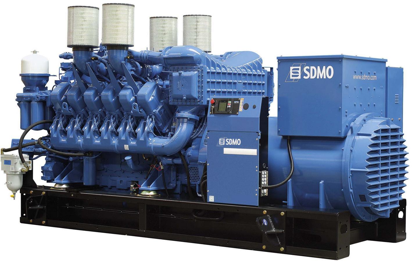 Фото: Дизельный генератор SDMO X 1850C