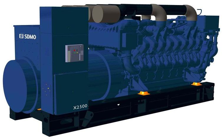 Фото: Дизельный генератор SDMO X2500