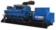 Фото: Дизельный генератор SDMO X3100