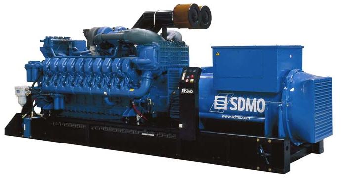 Фото: Дизельный генератор SDMO X3300