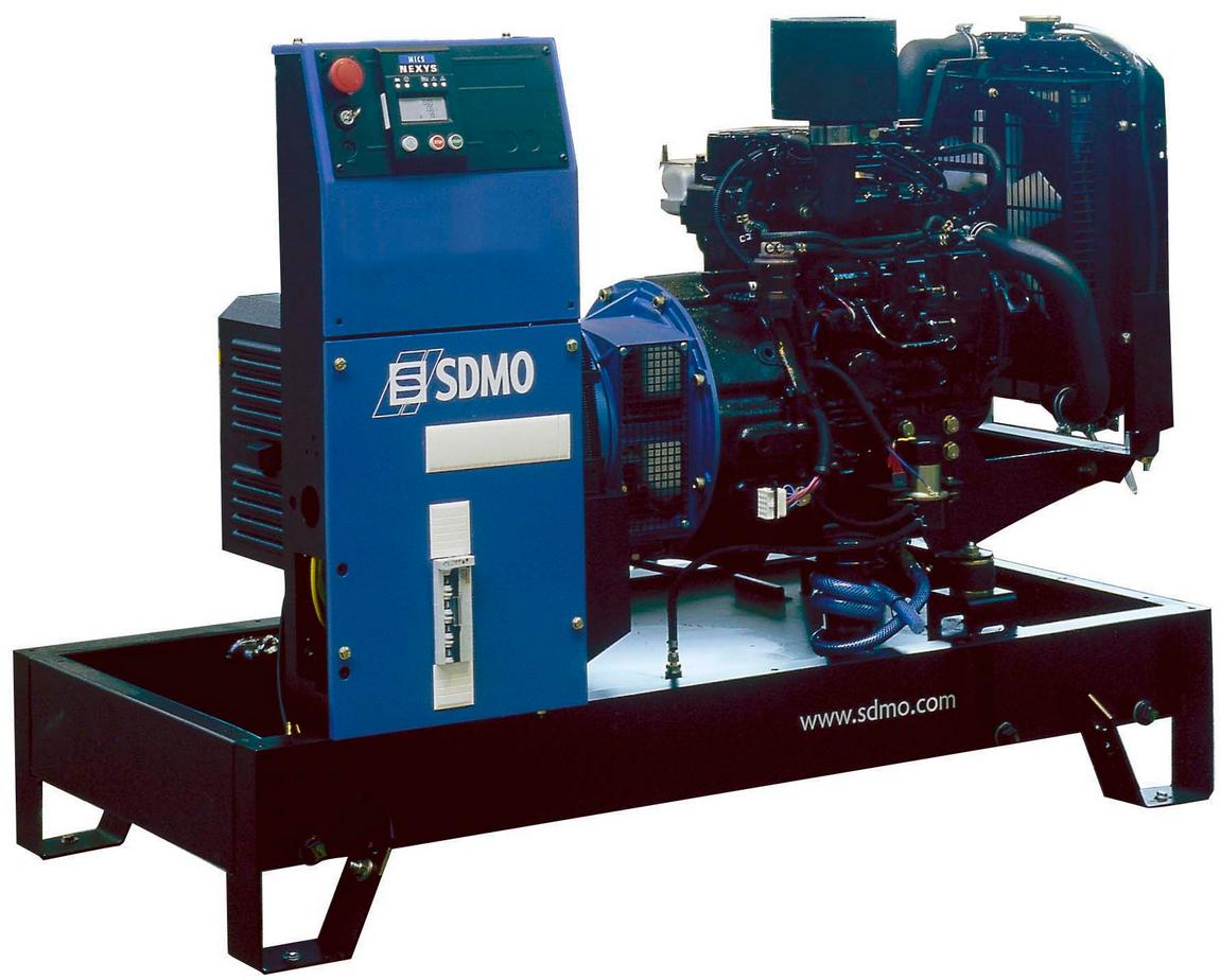 Фото: Дизельный генератор SDMO T 12K