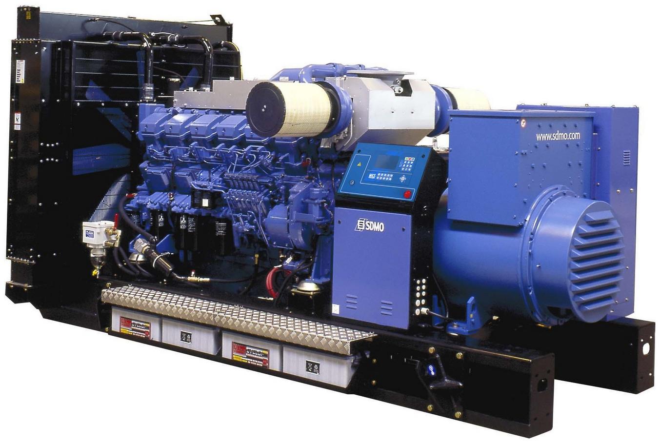 Фото: Дизельный генератор SDMO T1540