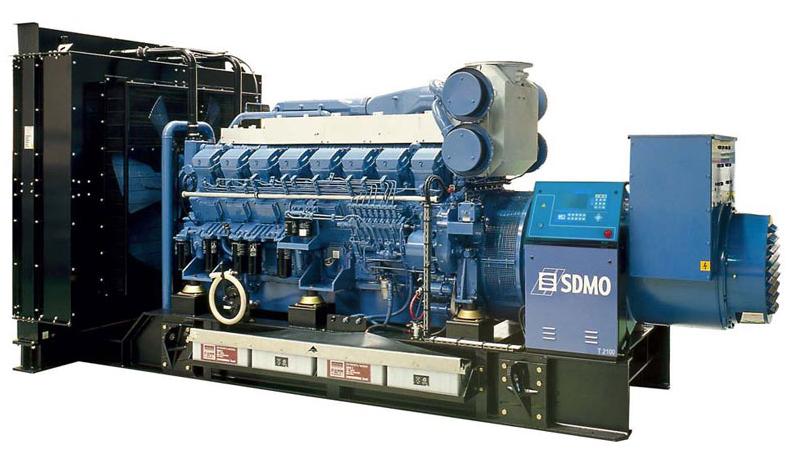 Фото: Дизельный генератор SDMO T2100
