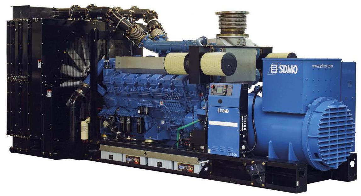 Фото: Дизельный генератор SDMO T2200