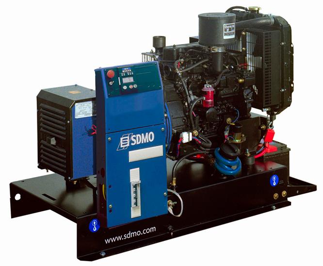 фото: Дизельный генератор SDMO T11 HKM