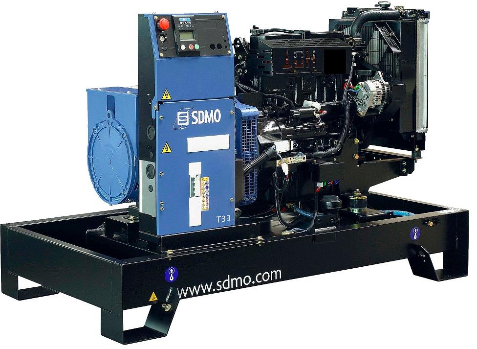 Фото: Дизельный генератор SDMO T33K